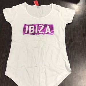 Tops - New with tags t shirt Ibiza